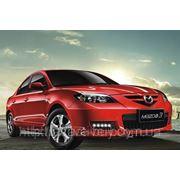 Штатные дневные ходовые огни DRL Mazda 3 до 2009 фото