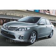 Штатные дневные ходовые огни DRL Toyota Corolla 2011+ фото