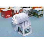 Бумажные блоки для записей фото