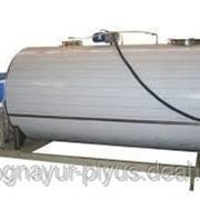 Охладитель молока передвижной, автономный 1200л. фото