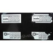 Пломбы-наклейки (гарантийные стикеры) фото