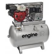 Компрессор + генератор BI EngineAIR B4900/270 7HP(408л/мин_270л_14бар_5.5кВт_стационарный_дизель) фото