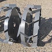 Колеса-грунтозацепы к мотоблокам, диаметр 400мм фото