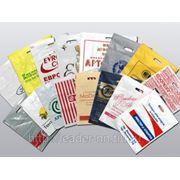 Производство пакетов с логотипом. Печать на пакетах ПВД и ПНД.. фото