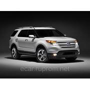 Стекло лобовое Ford Explorer (аккустическое+ДД) 2011- фото