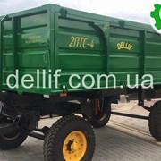 Прицеп тракторный 2 ПТС-4 Деллиф фото