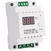 Цифровой термостат повышенной мощности terneo b20 фото