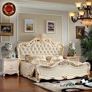 Кровать из массива дуба фото