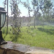 Проект, монтаж систем полива HUNTER в Киеве, Украина. фото