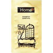 Шампунь для волос в упаковке саше 10 мл. Серия: Home фото