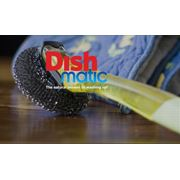 Щетка для мытья посуда с металлической губкой Dishmatic фото