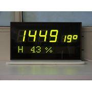 Часы-календарь электронные настенные Интеграл ЧКЭН-03 фото