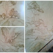 Художественная роспись. Золочение. Барельеф. фото