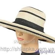 Шляпа летняя из натурального волокна 34/26-2 фото