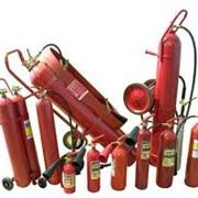 Перезарядка углекислотных огнетушителей ОУ-40 фото