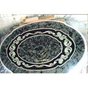 Стол мраморный Орнамент фото