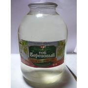 Сок березовый с сахаром, 3 л фото