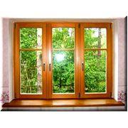 Окна из дерева стеклопакеты фото
