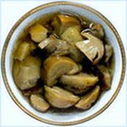 Грибы шампиньоны маринованные(нестериализованные) - 055л (нетто 044 кг) фото