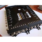 Мультисвитч #7341 с конфигурацией 9x 9x16 (проходной) имеет вход для того чтобы смешать сигнал наземной телевизионной станции (эфирный) со спутниковыми сигналами телевизионной частоты фото