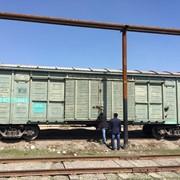 Крытые грузовые железнодорожные вагоны фото
