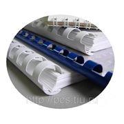 ПЕРЕПЛЕТ МЯГКИЙ пластиковой пружиной с обложками от 50 до 100 листов фото