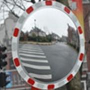 Зеркало обзорное дорожное круглое 600мм фото