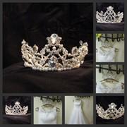 Короны свадебные на заказ фото