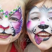 Аквагрим для детей фото