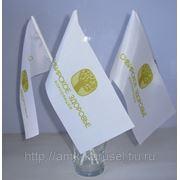 Флаги с корпоративной символикой фото