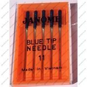 Иглы JANOME Blue Tip суперcтрейч - трикотажные фото