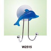 Крючок для полотенец двойной (дельфин) W2515 оптом фото