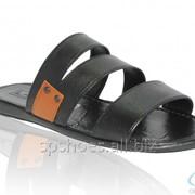 Сабо мужские 369-905, черный фото