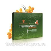 Тримегавитал. Натуральный бета-каротин и облепиха (All-natural beta-carotene in sea buckthorn oil) фото