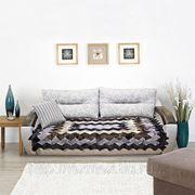 Меховая накидка на диван фото