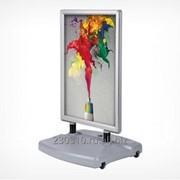 Штендер с рамами из алюминиевого клик-профиля WINDTALKER фото