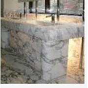 Изделия из мрамора, мрамор Arabescato, Итальянский мрамор фото