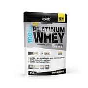 VPLab 100% Platinum Whey 750 гр., пакет. Карамельный фраппе. фото
