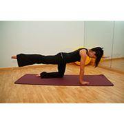 персональные занятия на тренажере Пилатес Реформер. Программы для беременных. фотография