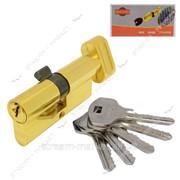 Секрет цинковый Imperial ZNК70 (35/35) (англ.ключ/поворот, золото) (5 ключей) (ZNK70 35/35РВ) №880654 фото