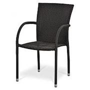 Плетеный стул Y282A-W52 Brown фото