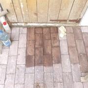 Очистка плитки ФЭМ, гранитной брусчатки, очистка тротуарной плитки Киев фото