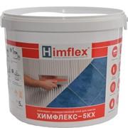 Эпоксидно-полиуретановый двухкомпонентный клей для плитки Химфлекс 5КХ, белый, 5 кг фото