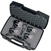 Набор инструментальных микрофонов для ударных Shure PGDMK4XLR фото