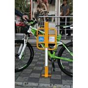 Велопарковка Ф-образная фото
