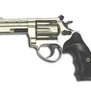 Револьвер ME-38 MAGNUM 4R, никель, пластиковая рукоятка фото