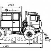Вахтовый автобус специальный НЕФАЗ-4208-11-18 фото
