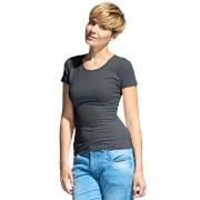 Женская футболка-стрейч StanSlimWomen 37W Тёмный меланж L/48 фото