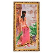 "Картина ""Утро Египта"" багет 39х76 см КВ9 фото"