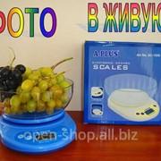 Весы кухонные с чашей A-PLUS фото